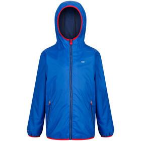 Regatta Lever II Waterproof Shell Jacket Kids oxford blue/pepper